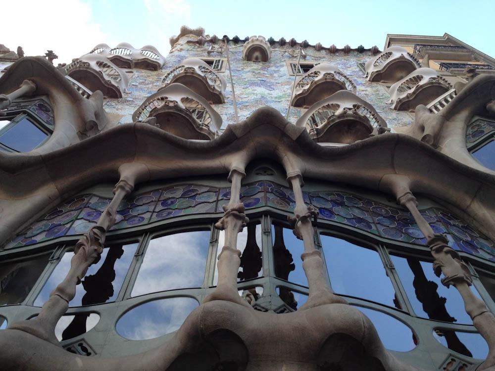 Casa Batlo, by Gaudi