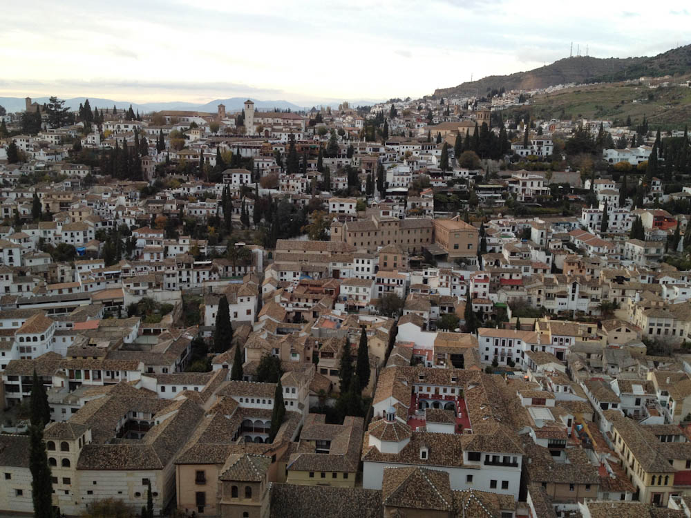 Albazin, old neightbourhood of Granada