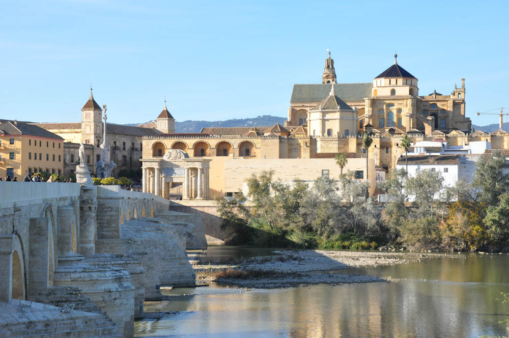 One of Cordoba's many bridges