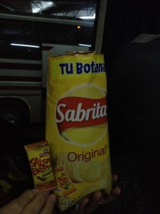 Sabritas... with spicy sauce!