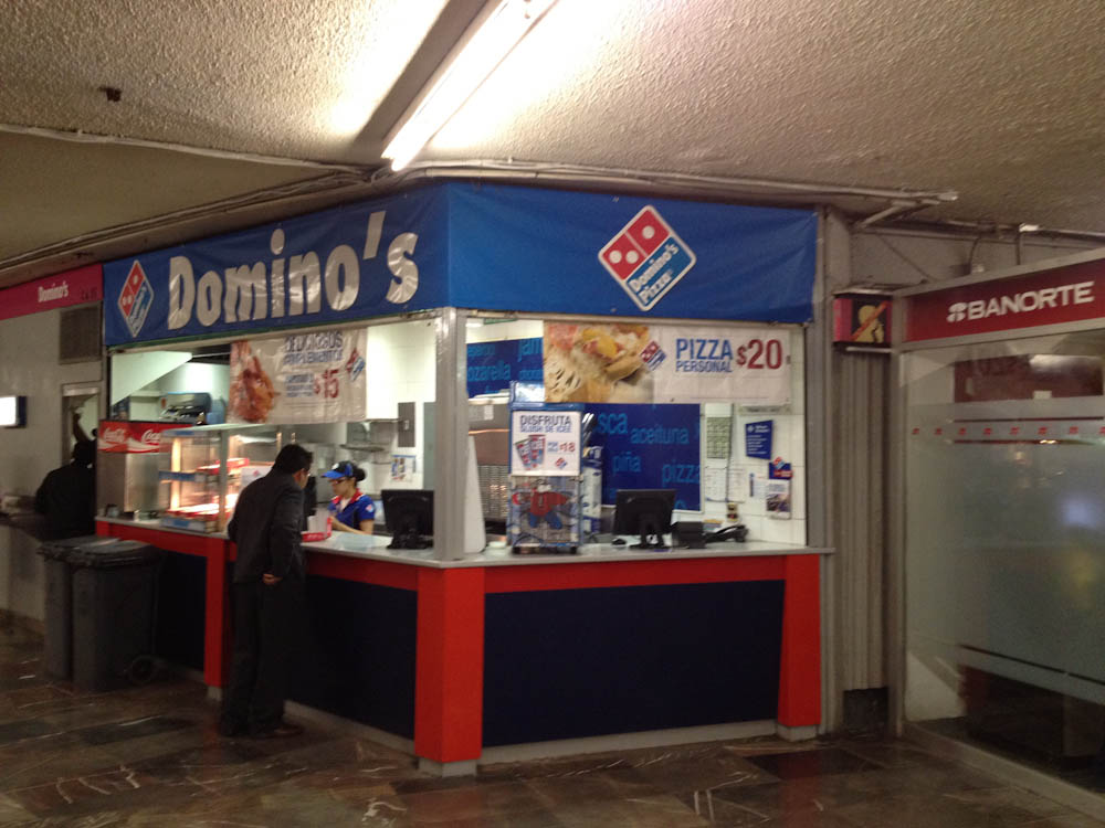 Domino's Monopolising the Mexico Metro
