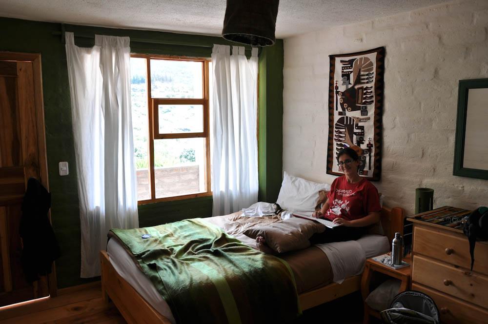 Green dreams at eco guesthouse la casa verde backpack me for Design eco casa verde
