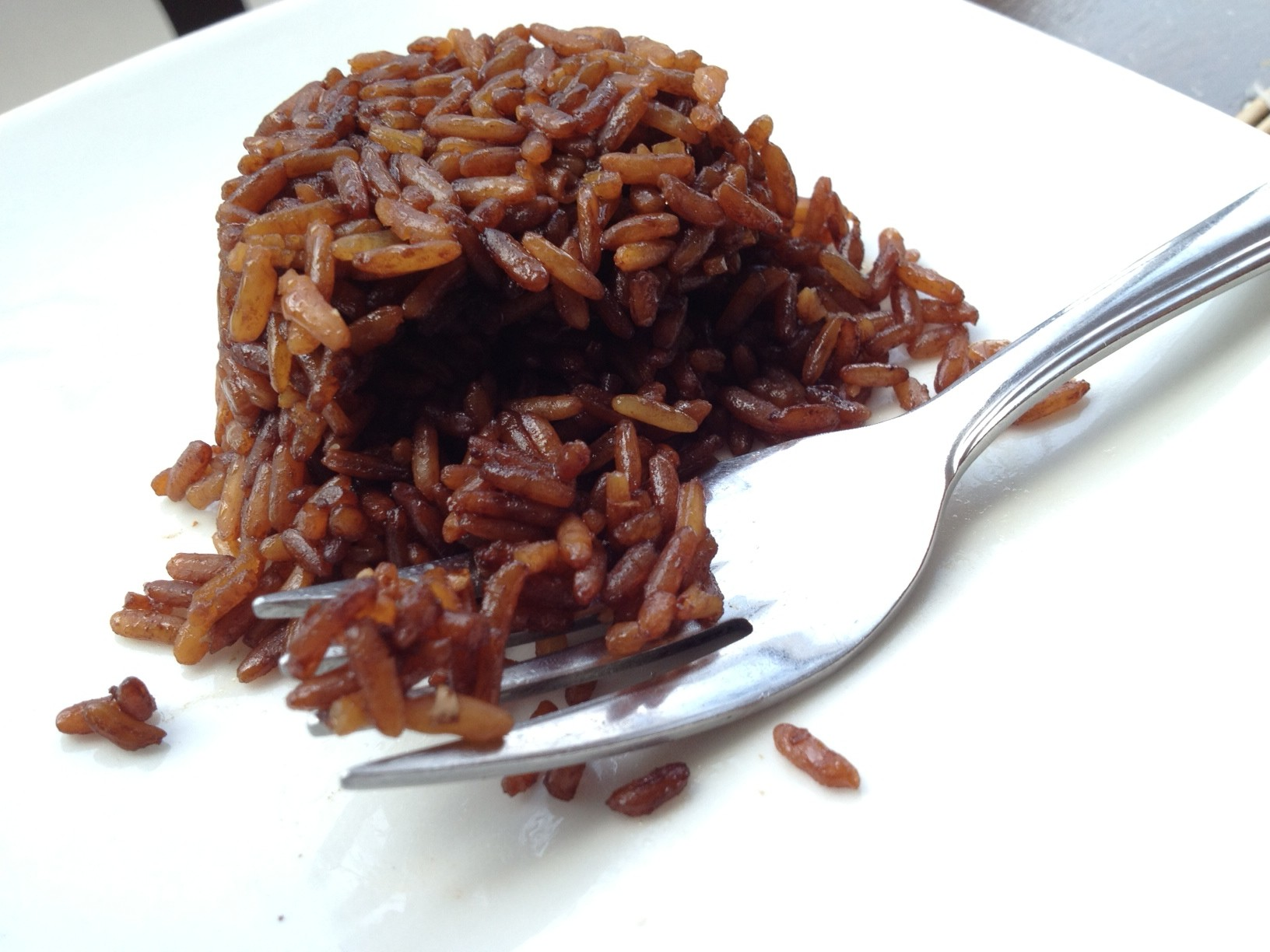 Delicious chocolate rice