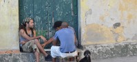 People watching is a great passtime in Havana
