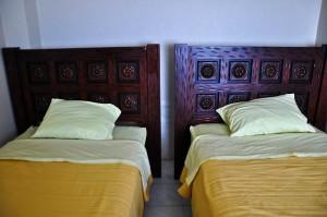 Twin room at Cormorant Beach House