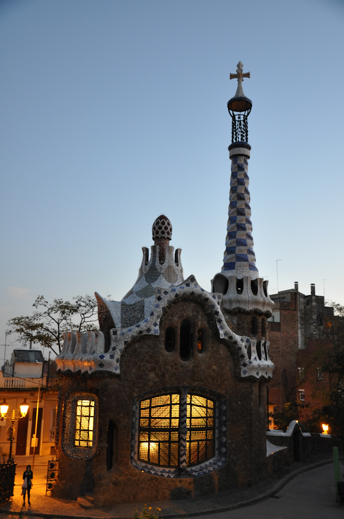 Fairytale house! You guessed it, by Gaudi!