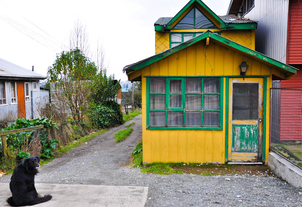 still, it's nice for him to live in such a colorful cottage!