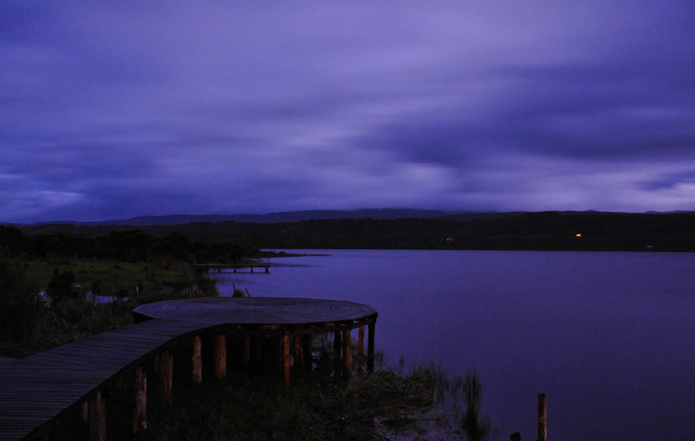 End of day by Cucao Lake