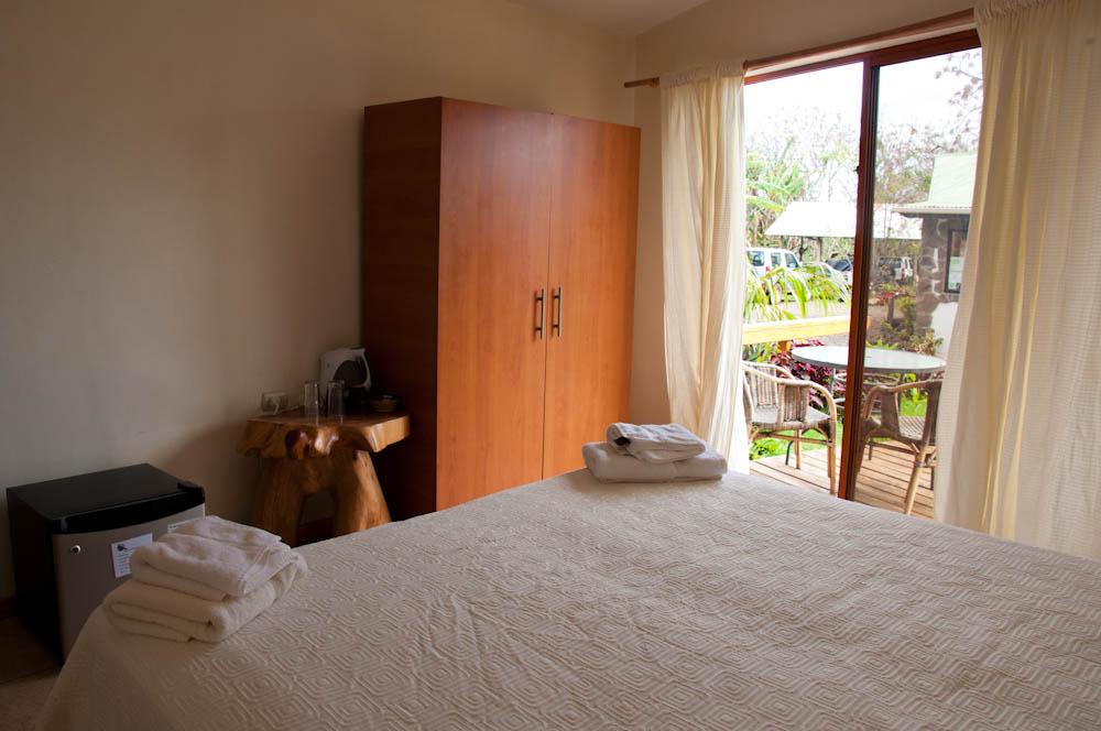 Executive double rooms at Tea Nui Hotel