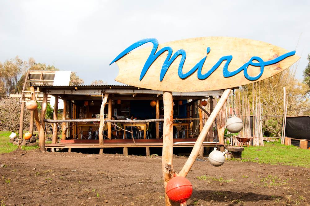 Miro Restaurant in Hanga Roa, Easter Island