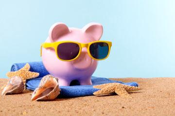 Smart Piggy = Tanned Piggy!