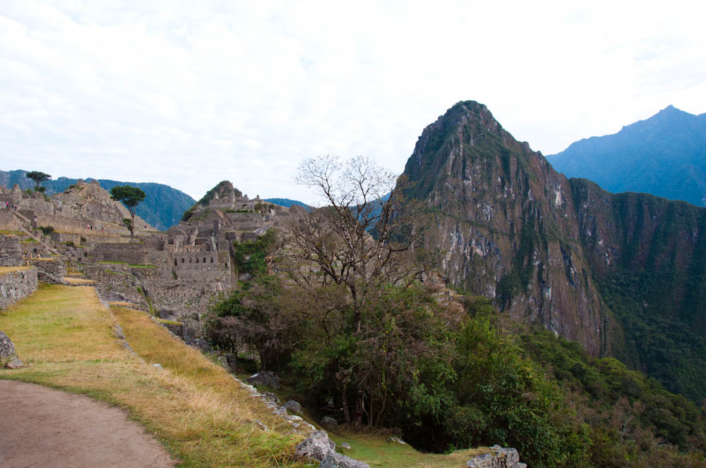 Glorious view of Machu Picchu first thing in the morning