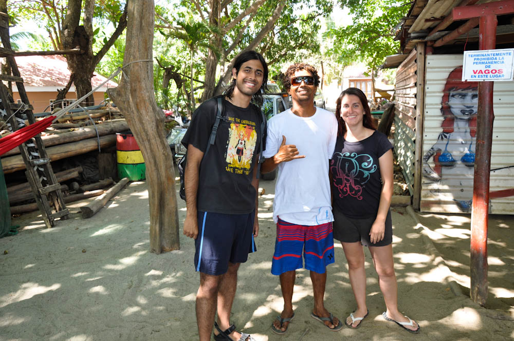 With Samurio, our surfing coach!