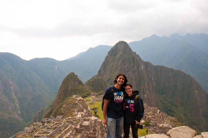A&Z get engaged in Machu Picchu