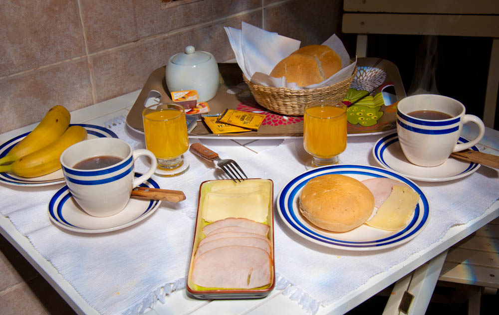 Parina Atacama breakfast