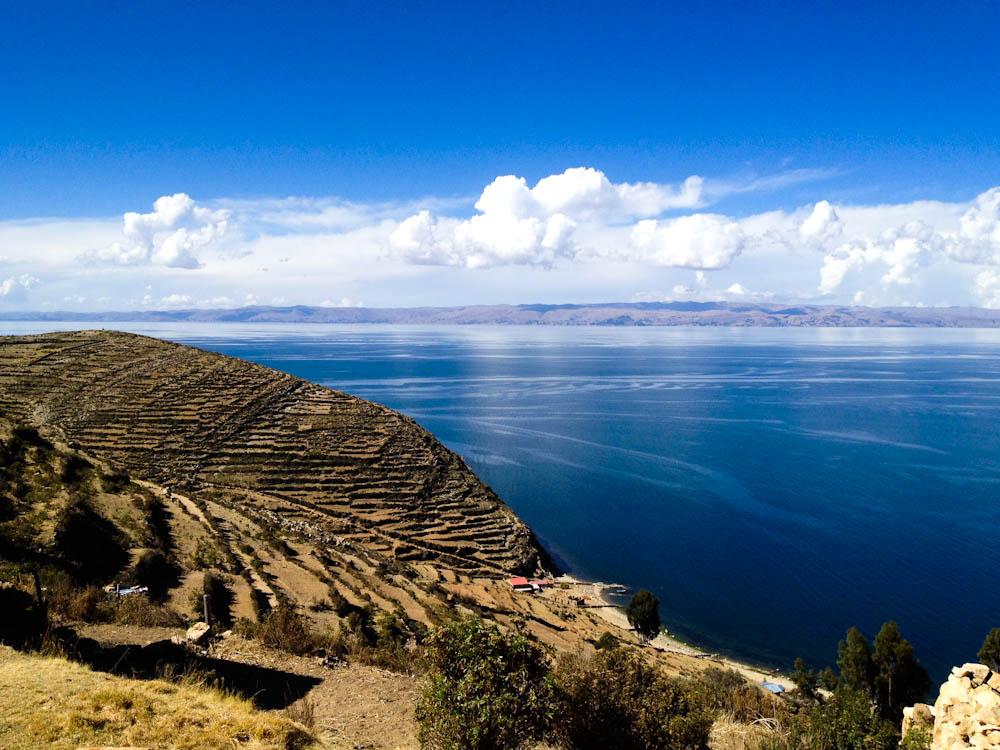 Sun Island in Lake Titicaca, Bolivia