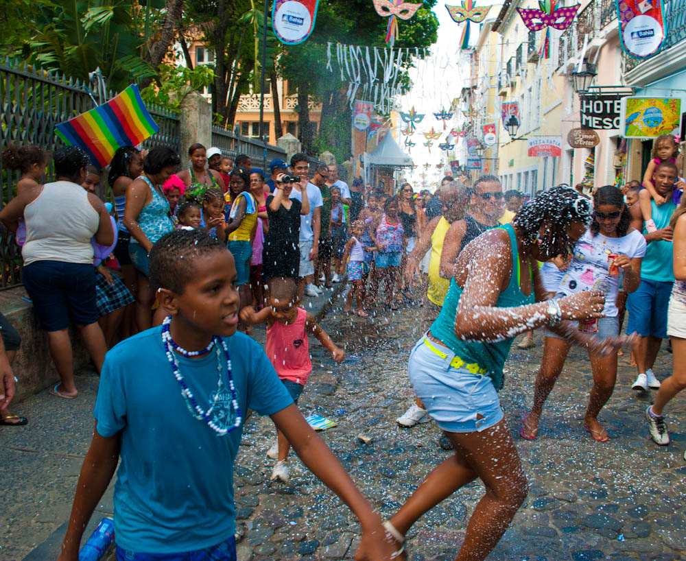 Nossa... carnival in Brazil is INSANE!
