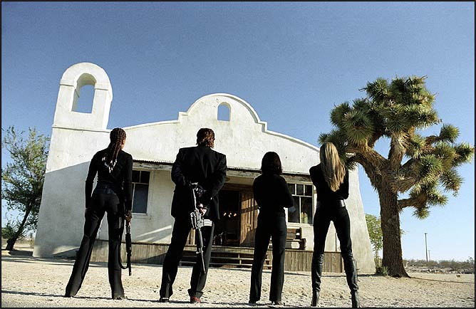 A still from Kill Bill