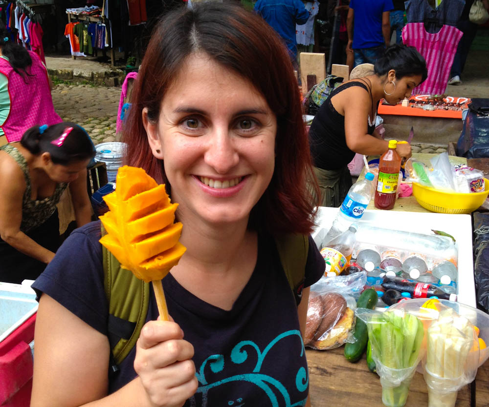 Mango Lolly! The cutest, most fun way of eating a piece of fruit... ever!