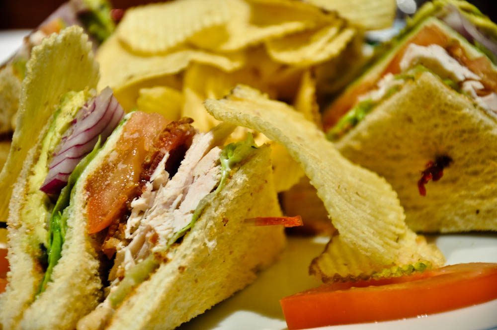 Club sandwich in Guayaquil