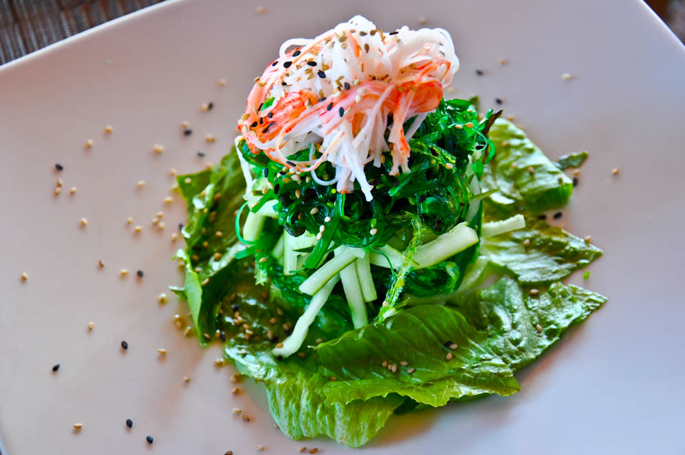 Seaweed salad: goes perfectly with tuna ponzu.