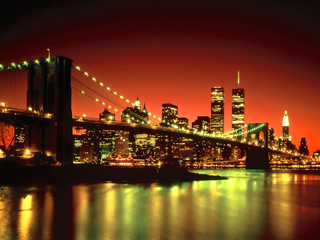 New York. Will the lights inspire us?
