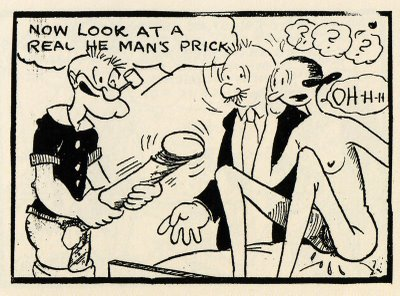 I'll never be able to look at Popeye with the same eyes again!...