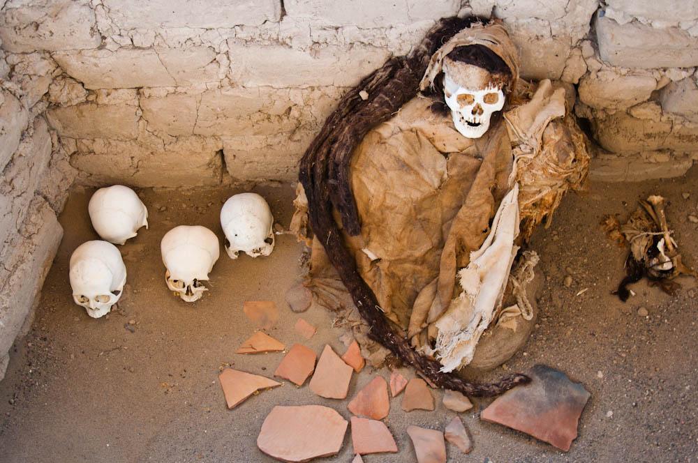 Mummified human remains, Rastafarian style!