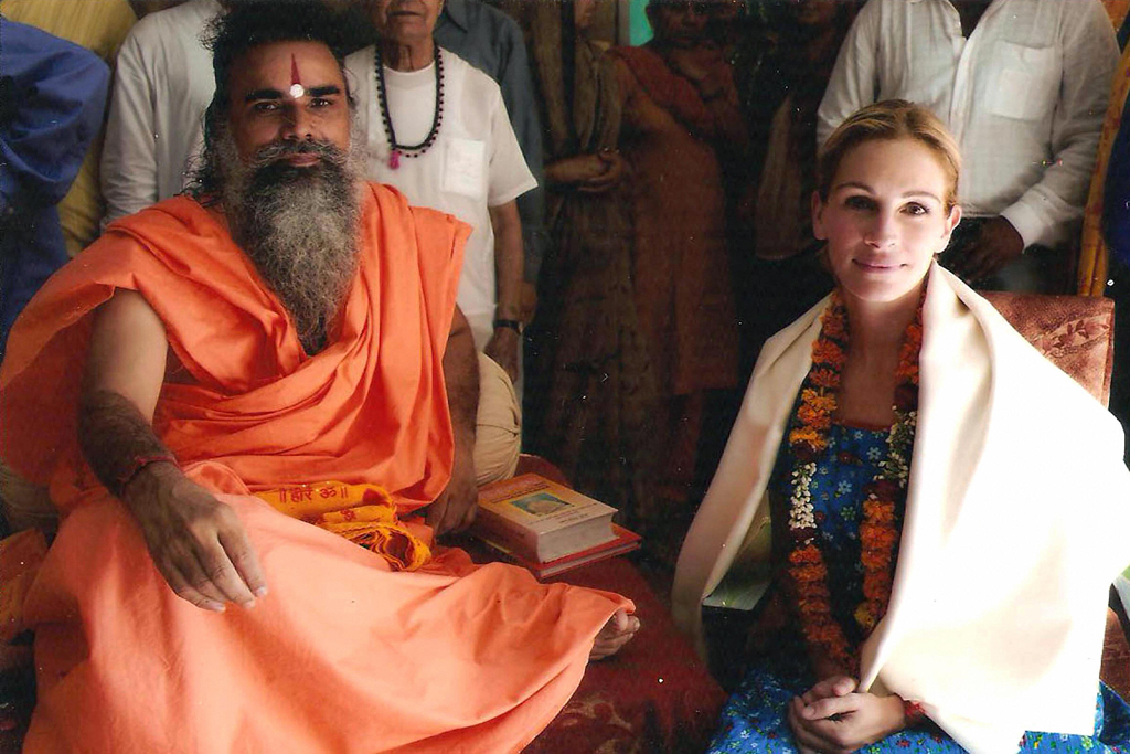 Julia Roberts finding herself in India