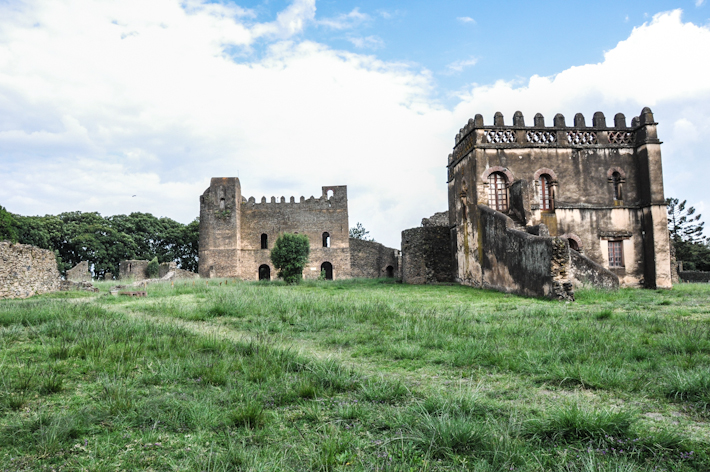 Historical site in Gondar