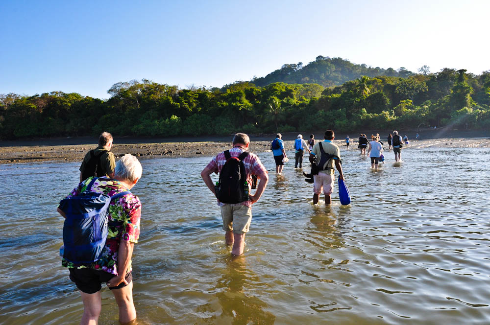 Arriving in Corcovado National Park in Costa Rica - NEVER wear shorts! Learn from our mistakes!