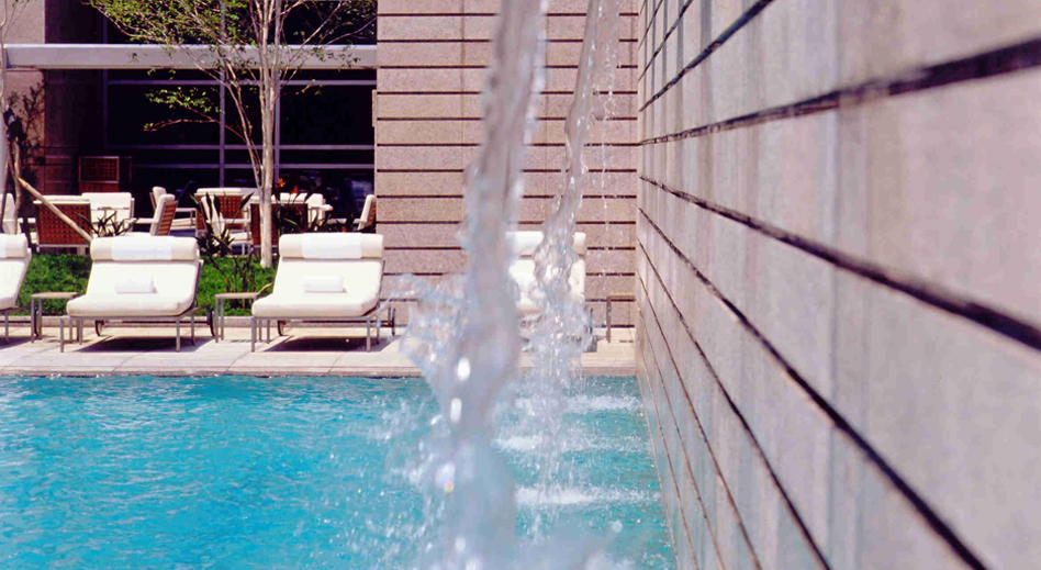 Outdoor pool at Grand Hyatt Sao Paulo, Brazil