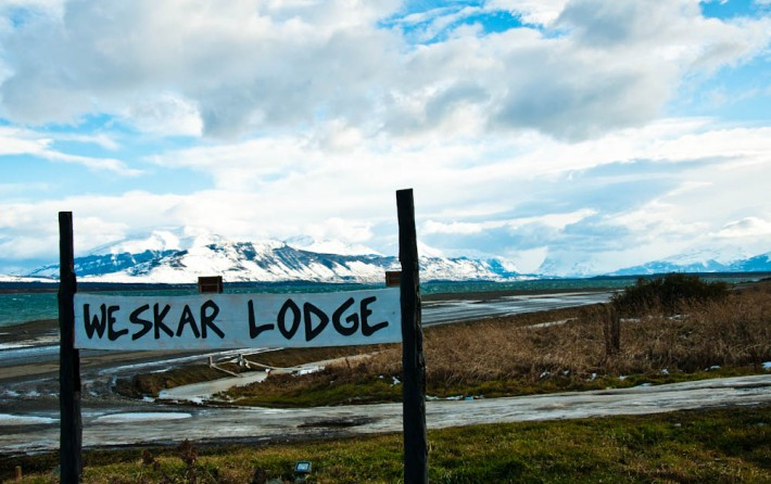 Homey Weskar Lodge in Puerto Natales, Southern Chile