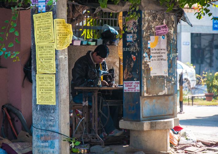 A street tailor.