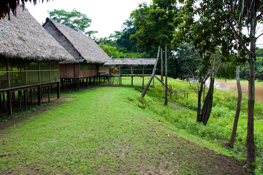 The grounds of Chullachaqui Eco Lodge