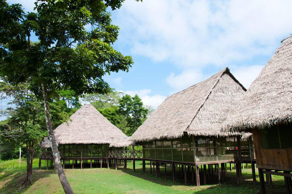 The pretty Chullachaqui Eco Lodge