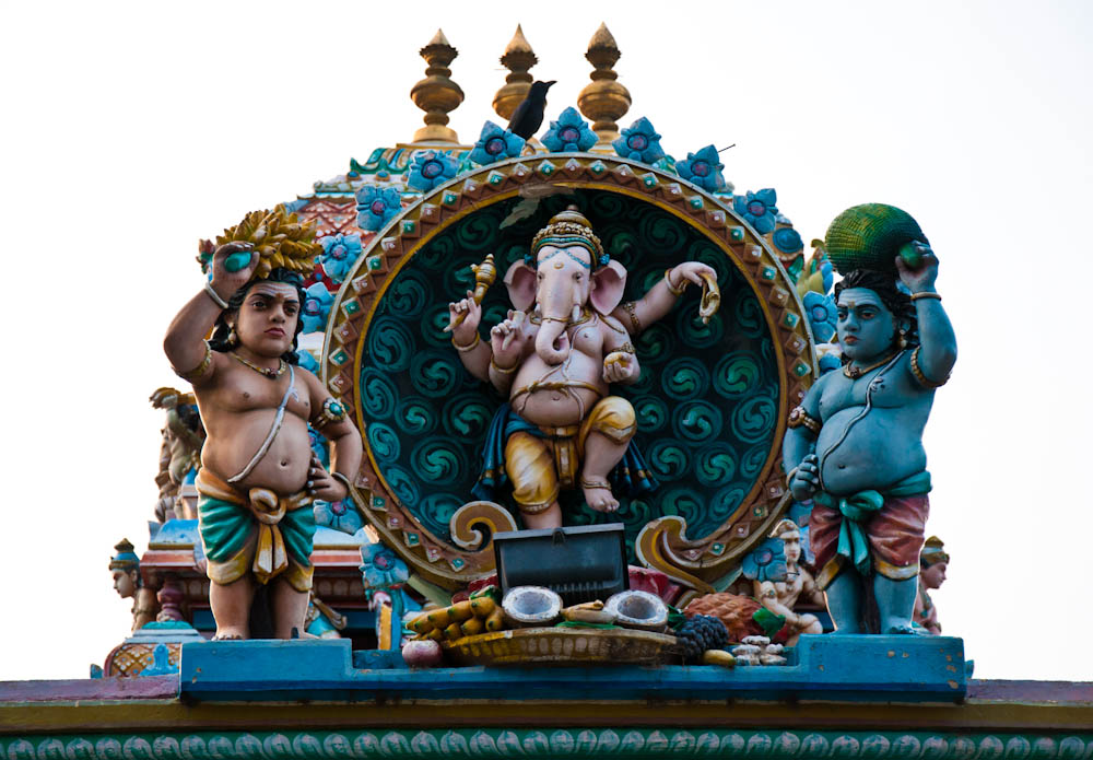 "Lord Ganesha - with his elephant head and cute representations, he's probably the most ""pop"" of all Hindu deities"