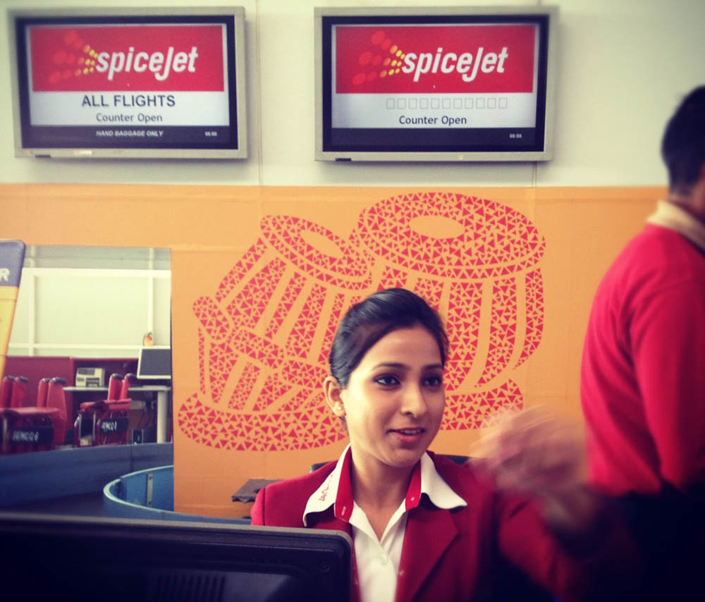 Checking in with the spiciest airline on earth!