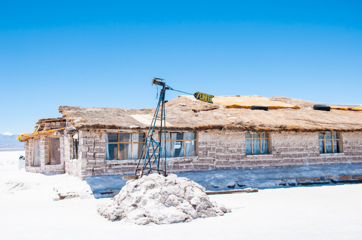 The original salt hotel