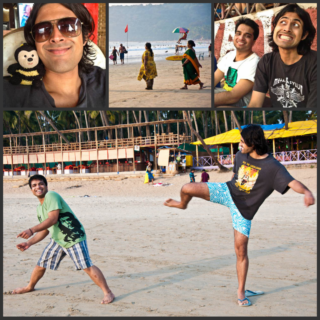 Fun & games in Palolem beach!