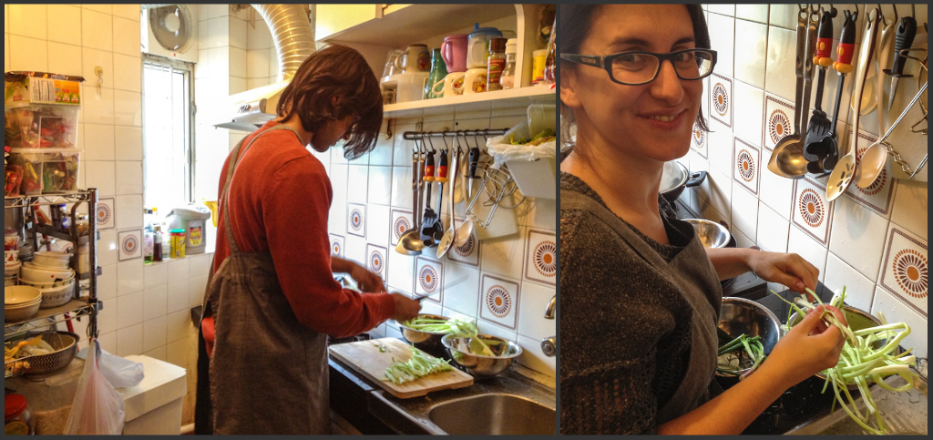 A&Z in the kitchen