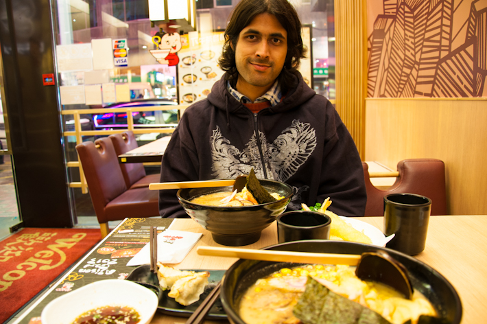 At Ajisen Ramen: a Japanese chain with gratifying noodles in broth and more
