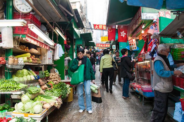 Street Market near Sheun Wan