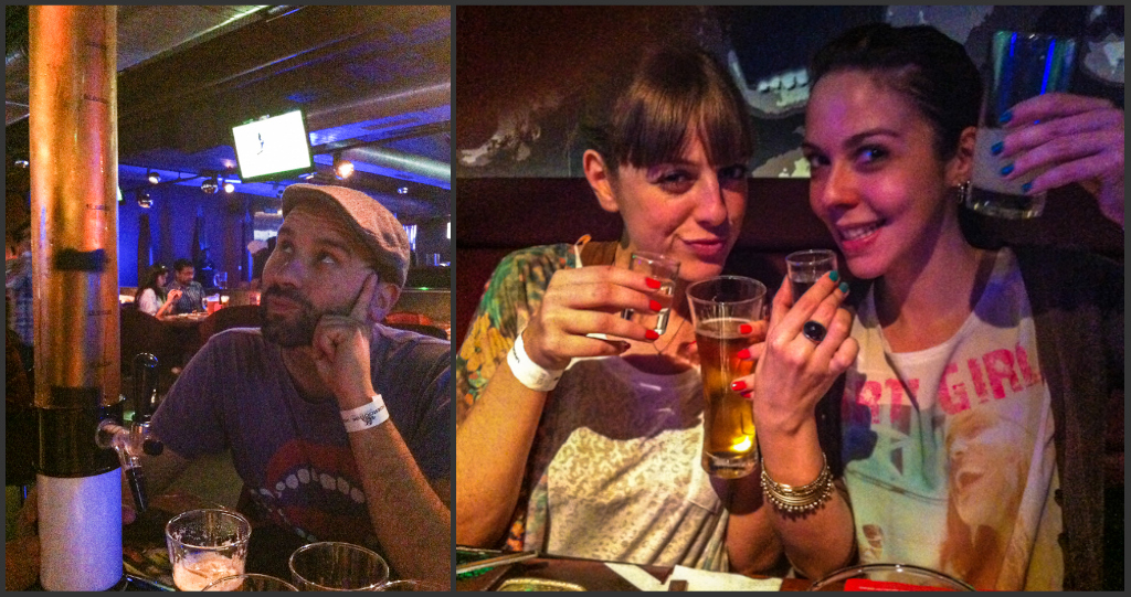 Sri Carrasco, Patty Singh & Vanessa Kumar drinking Delhi away!