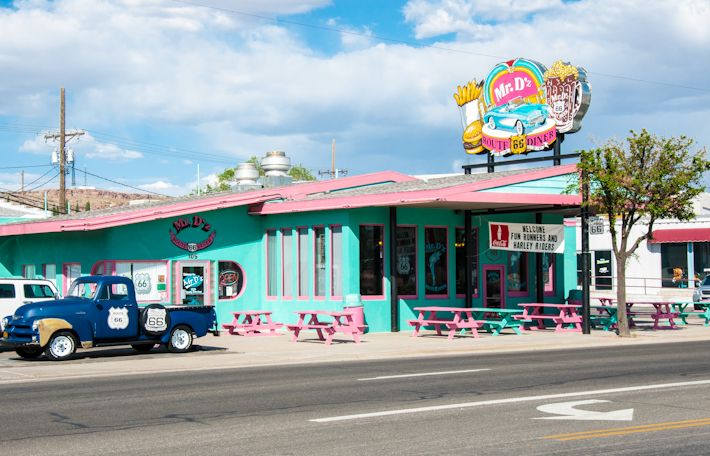 Mr. D's Route 66 diner in Kingman