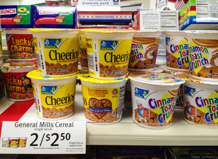 "A single serving of cereal for ""just"" USD2!"
