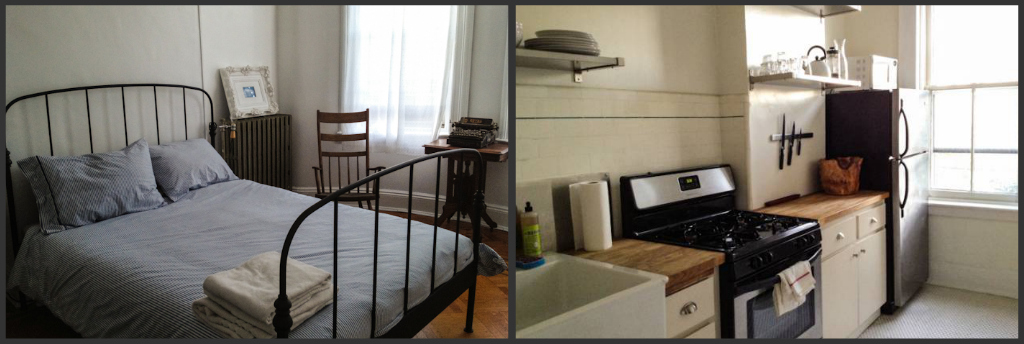 A cosy Airbnb rental in Queens, New York