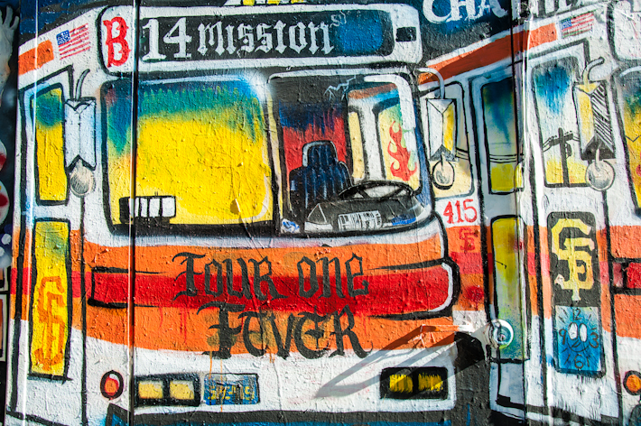 A bus to Mission District