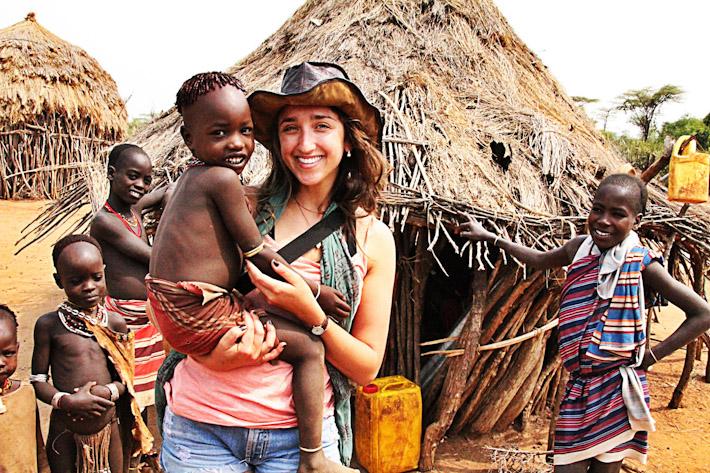 Cynthia in Ethiopia
