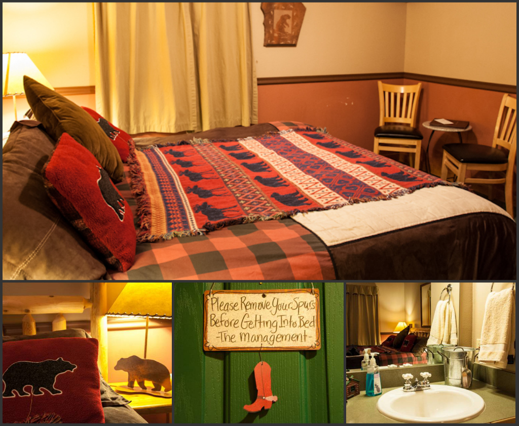 Overview of the rooms at Abineau - some even have a fireplace!